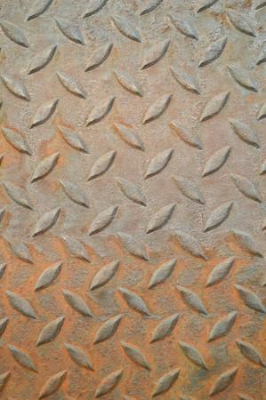 ironworks: old steel floor texture background