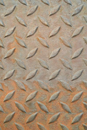 corrugated steel: Rusted corrugated steel plate background