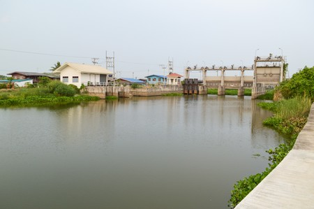 chachoengsao: public dam in country Chachoengsao Thailand