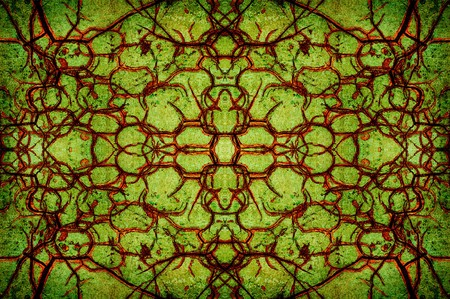 green cracked abstract pattern background Stock fotó