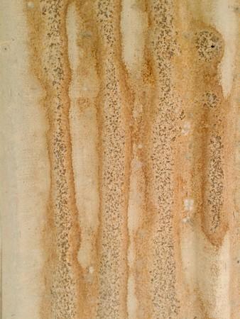さびで覆われた亜鉛壁テクスチャ背景
