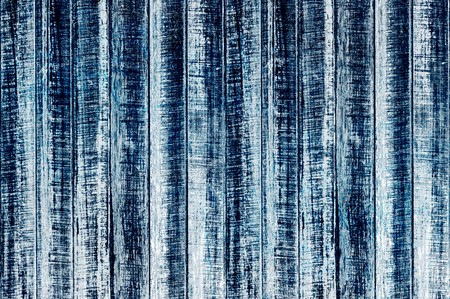 wood wall texture background - blue color tone