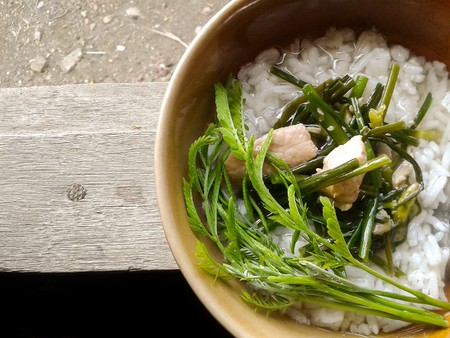 rice boiled  Thailand healthy food Stock Photo