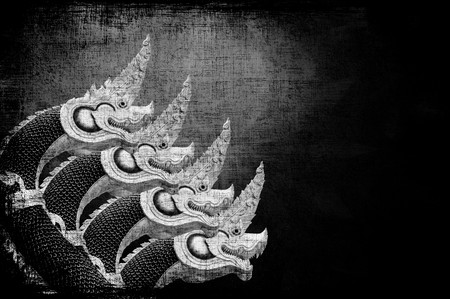 art four King of Nagas statue  texture background