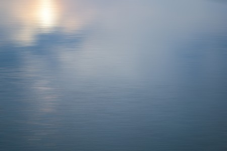 wavelet: blue water surface on fish pond