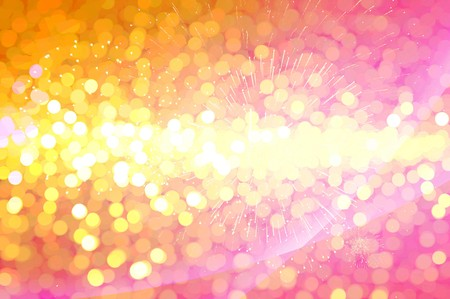 effect: yellow and pink bokeh effect texture background