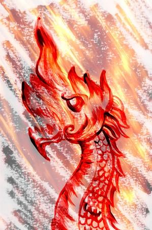kunst grunge nagas cartoon afbeelding