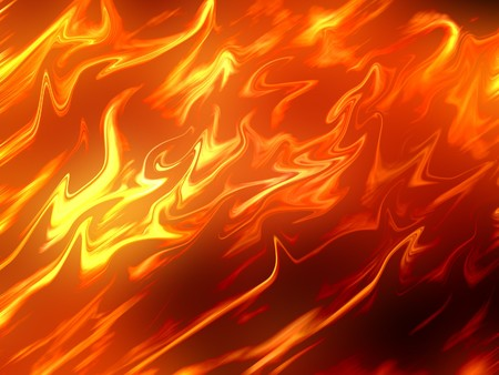 firestorm: fire abstract background