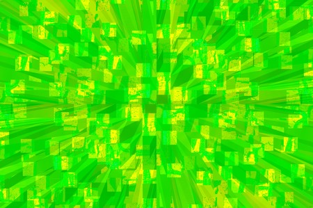 radiate: Abstract green radiate texture Illustration