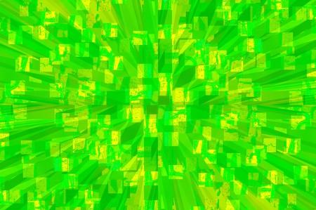 radiate: Abstract green radiate texture Illustration