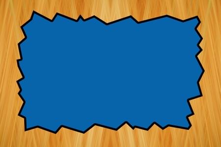 アート ブラウンとブルー色抽象パターン背景