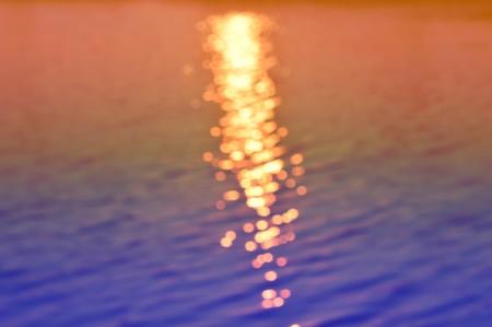 wavelet: art color of blur bokeh water surface