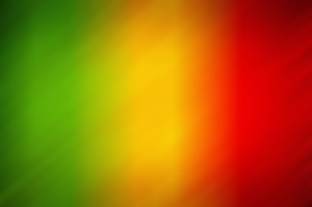 blurry green yellow red abstract background Reklamní fotografie