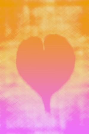 art color heart background