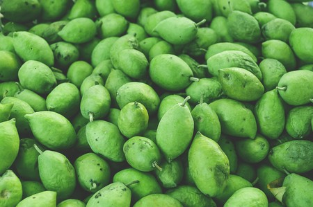 olive green: green olive fruit
