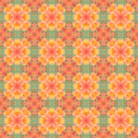 streaked: art green and orange abstract pattern background