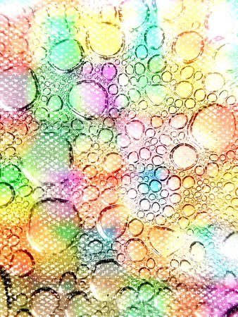 dew: art colorful dew background Stock Photo