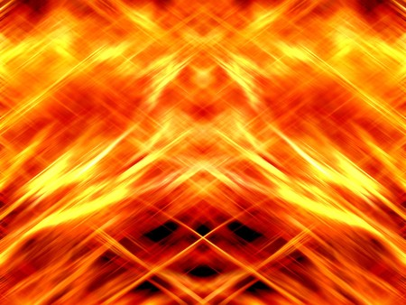 fire burn abstract illustration background