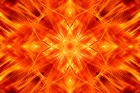 hellfire: fire burn abstract illustration background