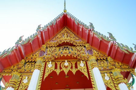 temple thailand: public temple in country Thailand Stock Photo