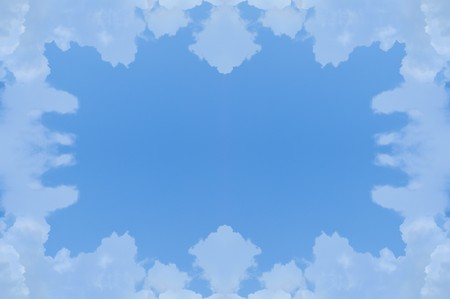 art blue abstract pattern background Stock Photo