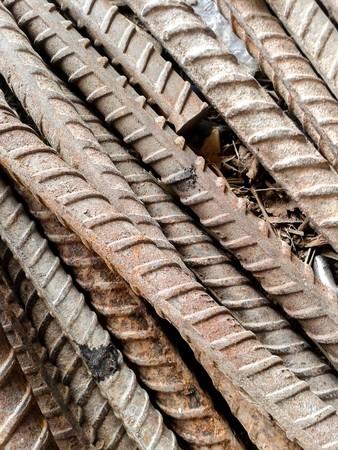 rusty: rusty iron rods