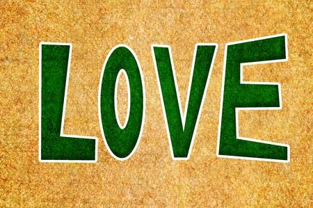 word love Stock fotó - 44098202