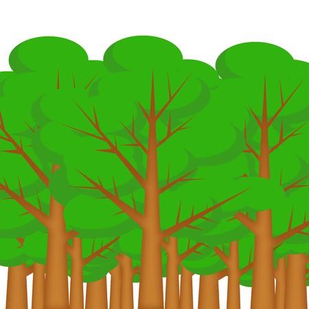 illustratie van de boom Stockfoto