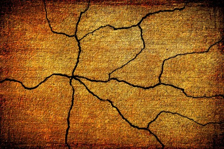 crack: old grunge crack cement wall texture background Stock Photo