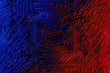 kunst grunge blauwe en rode kleur abstracte patroon illustratie achtergrond