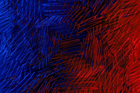 art grunge blue and red color abstract pattern illustration background