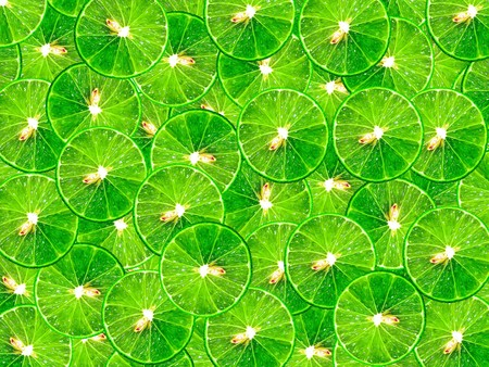 green background: green lime pattern background Stock Photo