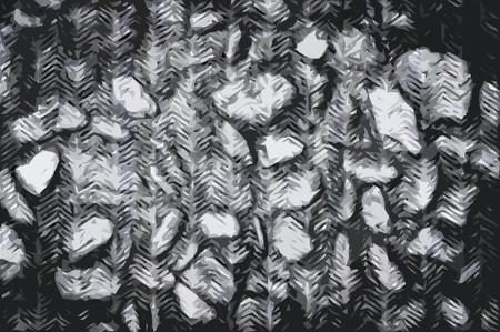 art grunge black stone abstract texture illustration background