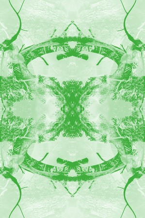 green background: green green abstract pattern illustration background