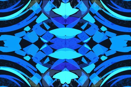 scabrous: art blue abstract pattern illustration background