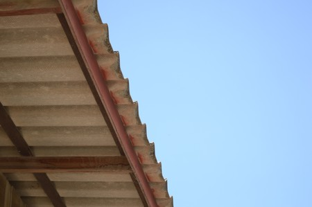 rafter: tile roof in country Thailand