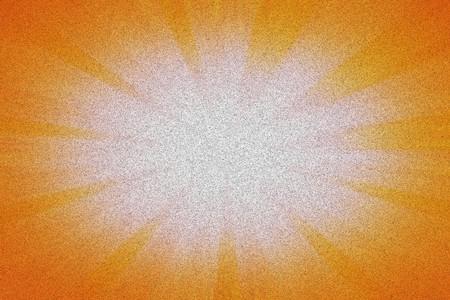 orange color: art rays pattern illustration background Stock Photo