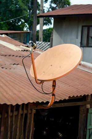 satellite dish: satellite dish