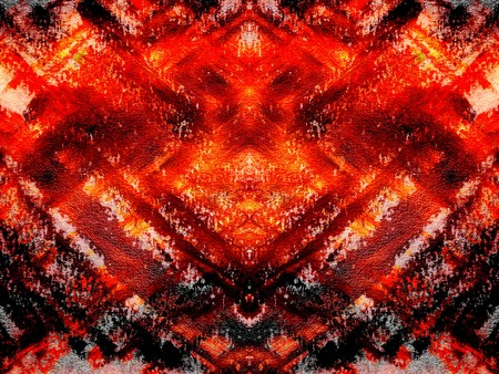 wallpapaer: art grunge red fire abstract pattern illustration background Stock Photo