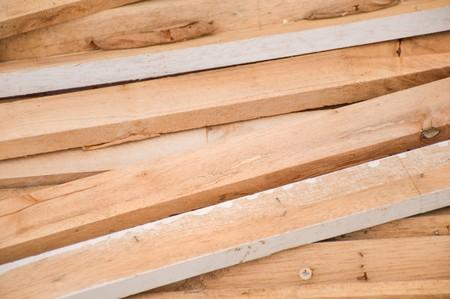 plywood: dry plywood Stock Photo
