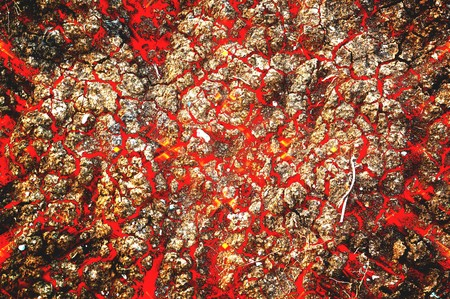 hot lava pattern illustration background