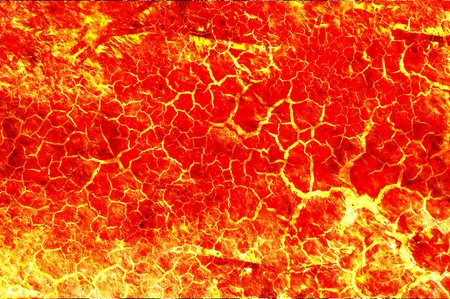 hot lava pattern illustration background