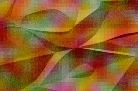 art crease abstract pattern illustration background Reklamní fotografie