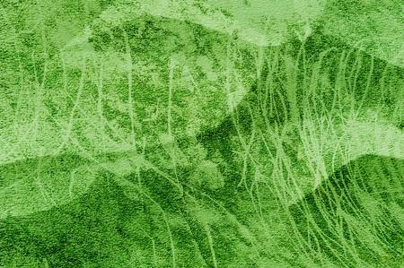 art grunge green crease texture illustration background Reklamní fotografie