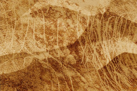 crease: old grunge brown crease texture illustration background