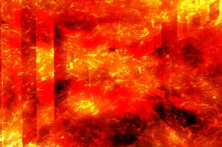 art fire burn home pattern illustration background