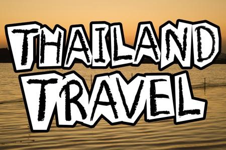 Text thailand Illustration Hintergrund Standard-Bild - 50082016