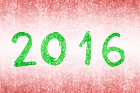 celebration background: Happy new year celebration 2016  illustration background