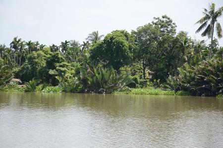 chachoengsao: Bangprakong river in chachoengsao thailand