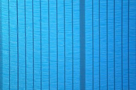 blue sun shading net texture Stock Photo